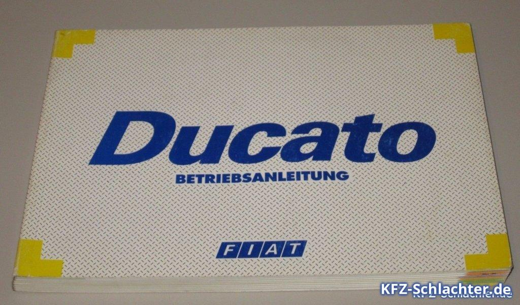 Fiat Ducato Betriebsanleitung Handbuch Anleitung Bedienungsanleitung ...